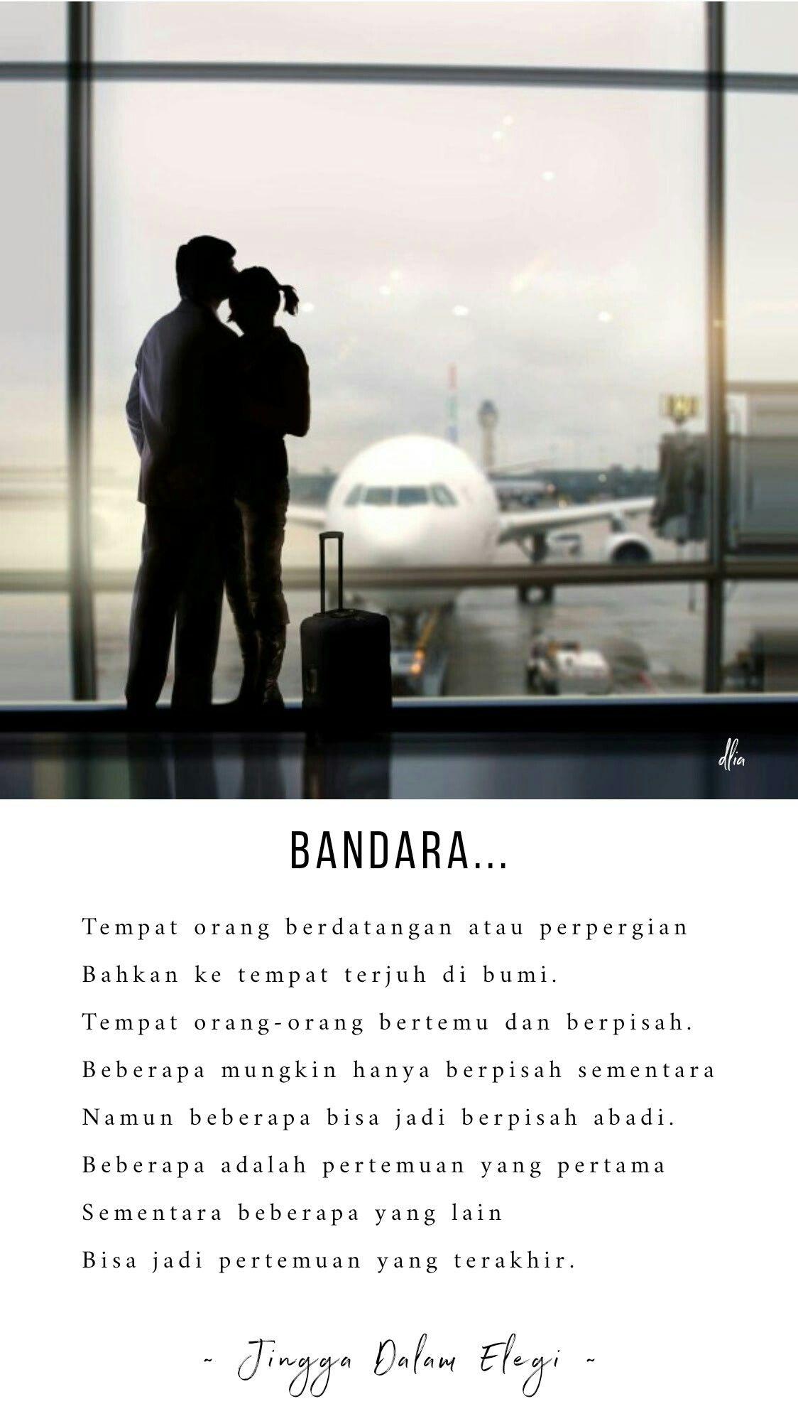 Bandara Sebuah Tempat Dimana Pertemuan Dan Perpisahan Terjadi