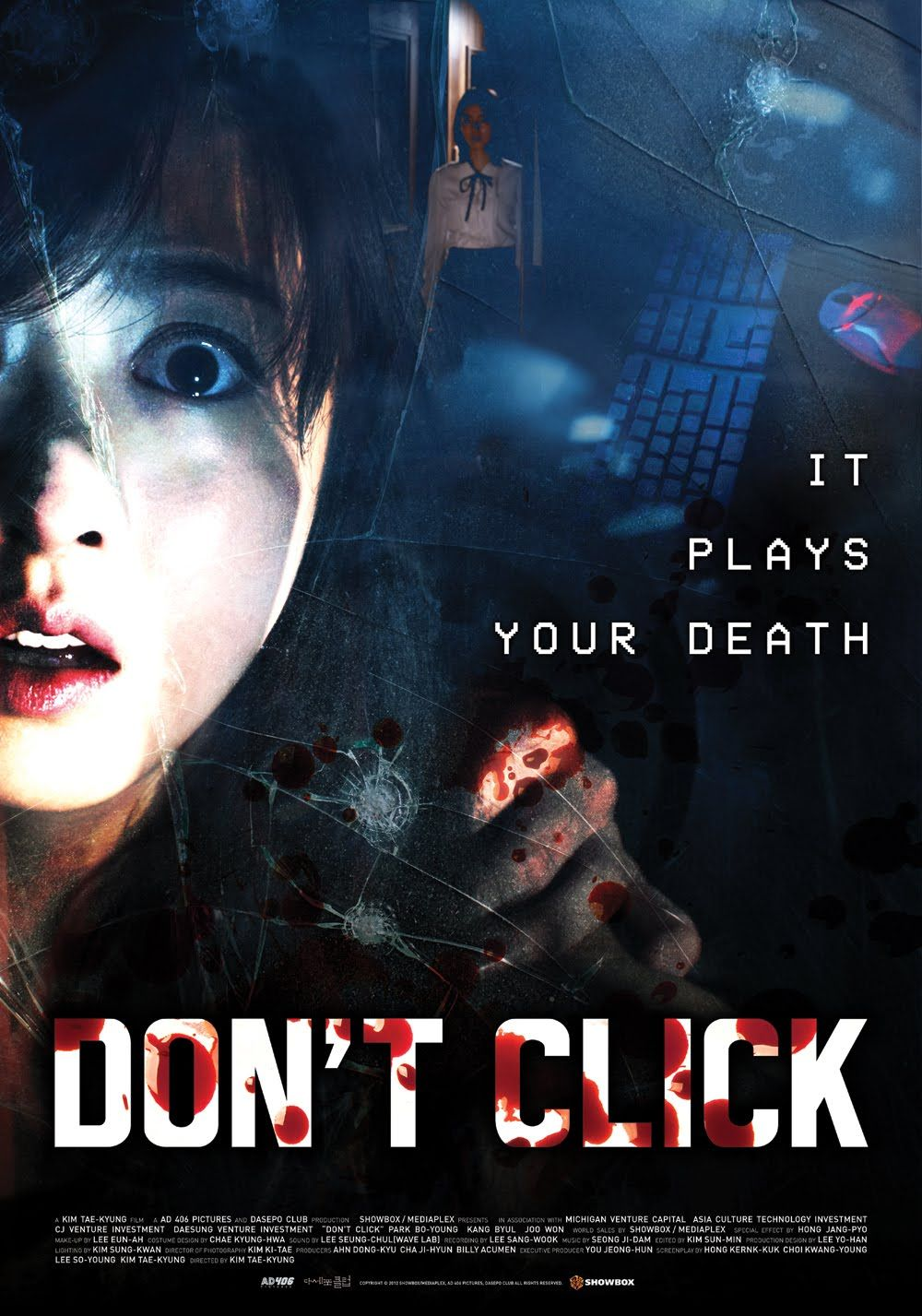 Don't Click (2018) | Horror Movie Posters in 2019 | Streaming movies