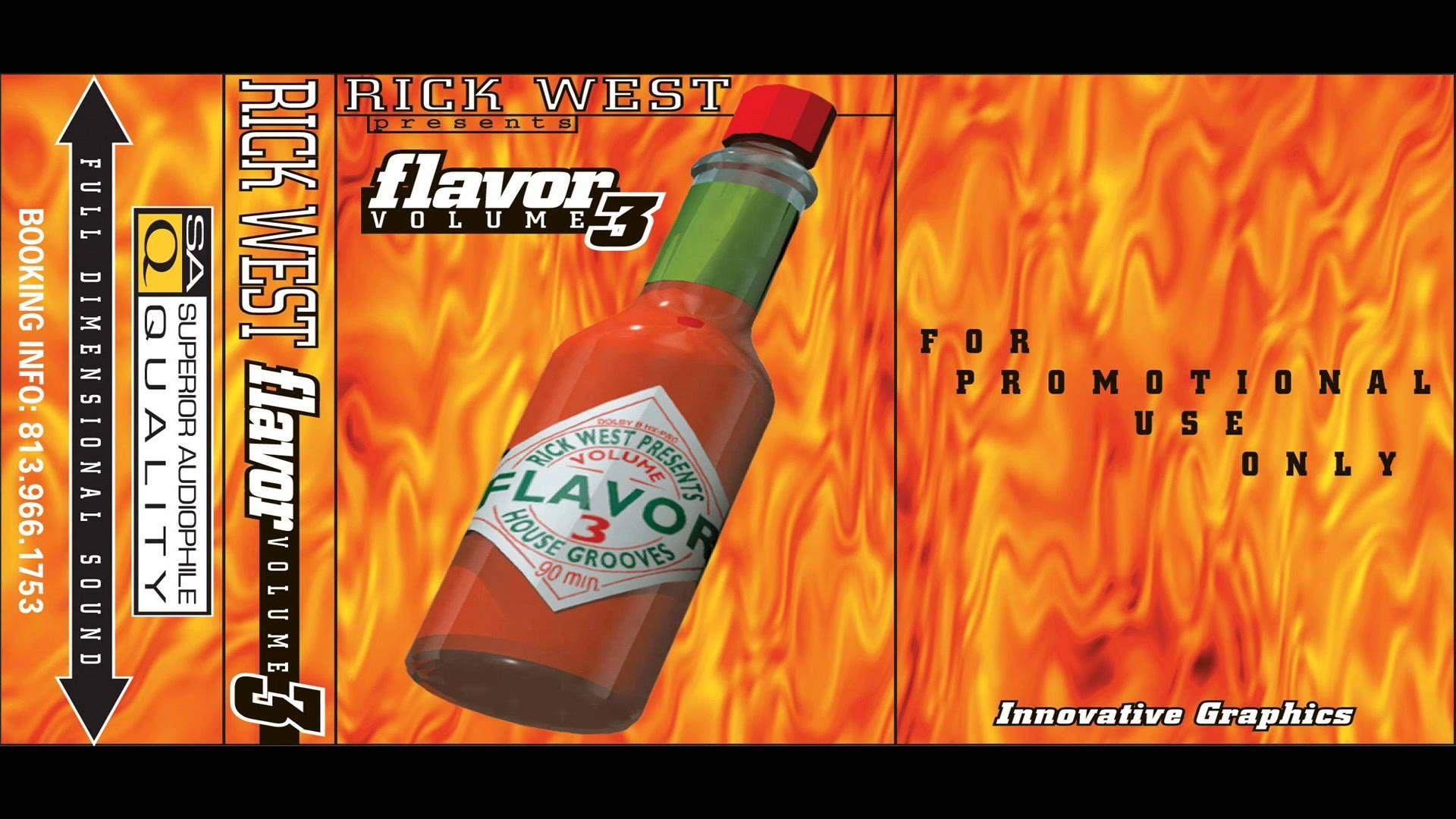 Rick West Flavor Vol.3 Mixtape Series Side A & B (Spring 1996)