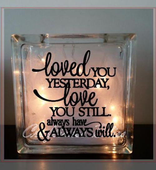 Image Result For Wedding Decals Glass Bricks Crafts Pinterest - Glass block vinyl decals