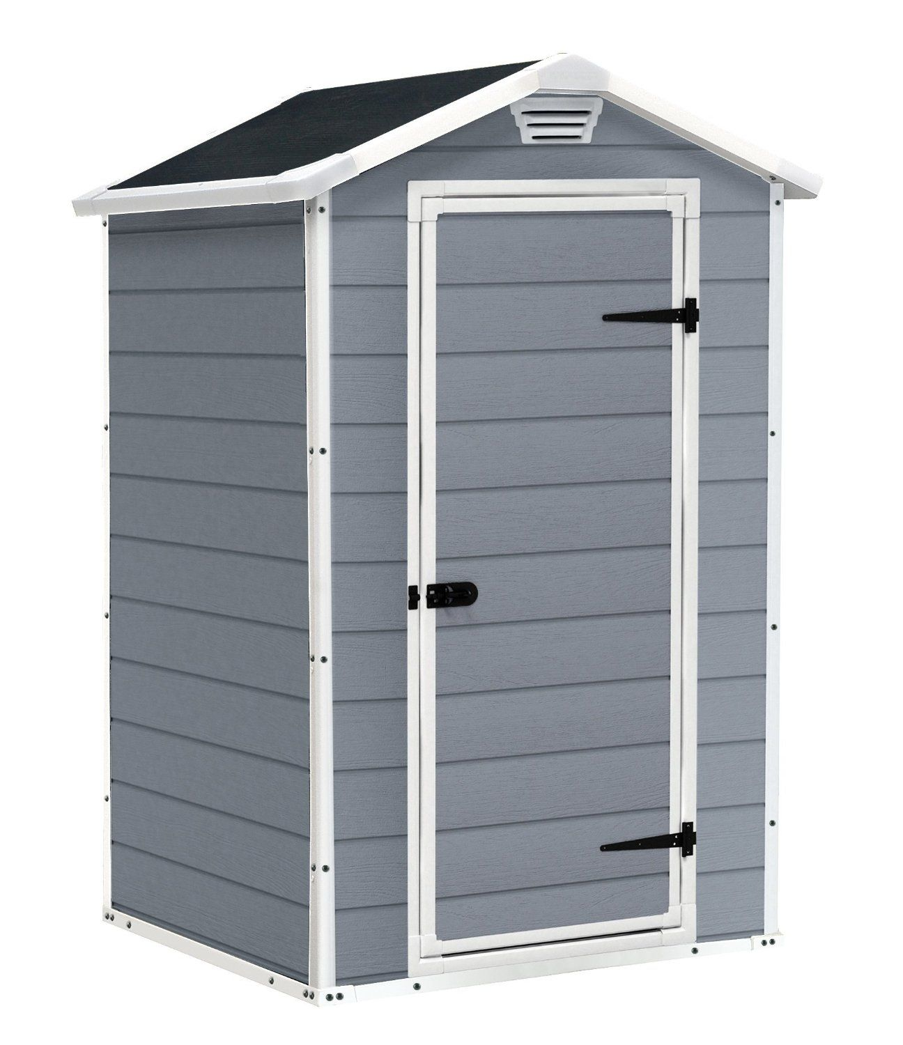 Garden Sheds 10 X 3 keter manor vertical 4 x 3 ft resin outdoor garden storage shed
