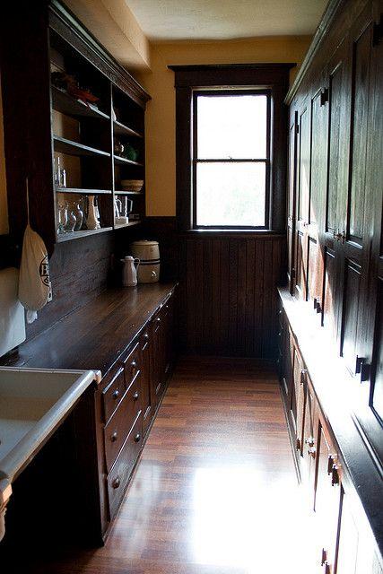 Old Farmhouse Pantry Häuschen - tür für küchenschrank