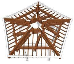 Japanese Pagoda Roof Framing Roof Design Gazebo Hip Roof