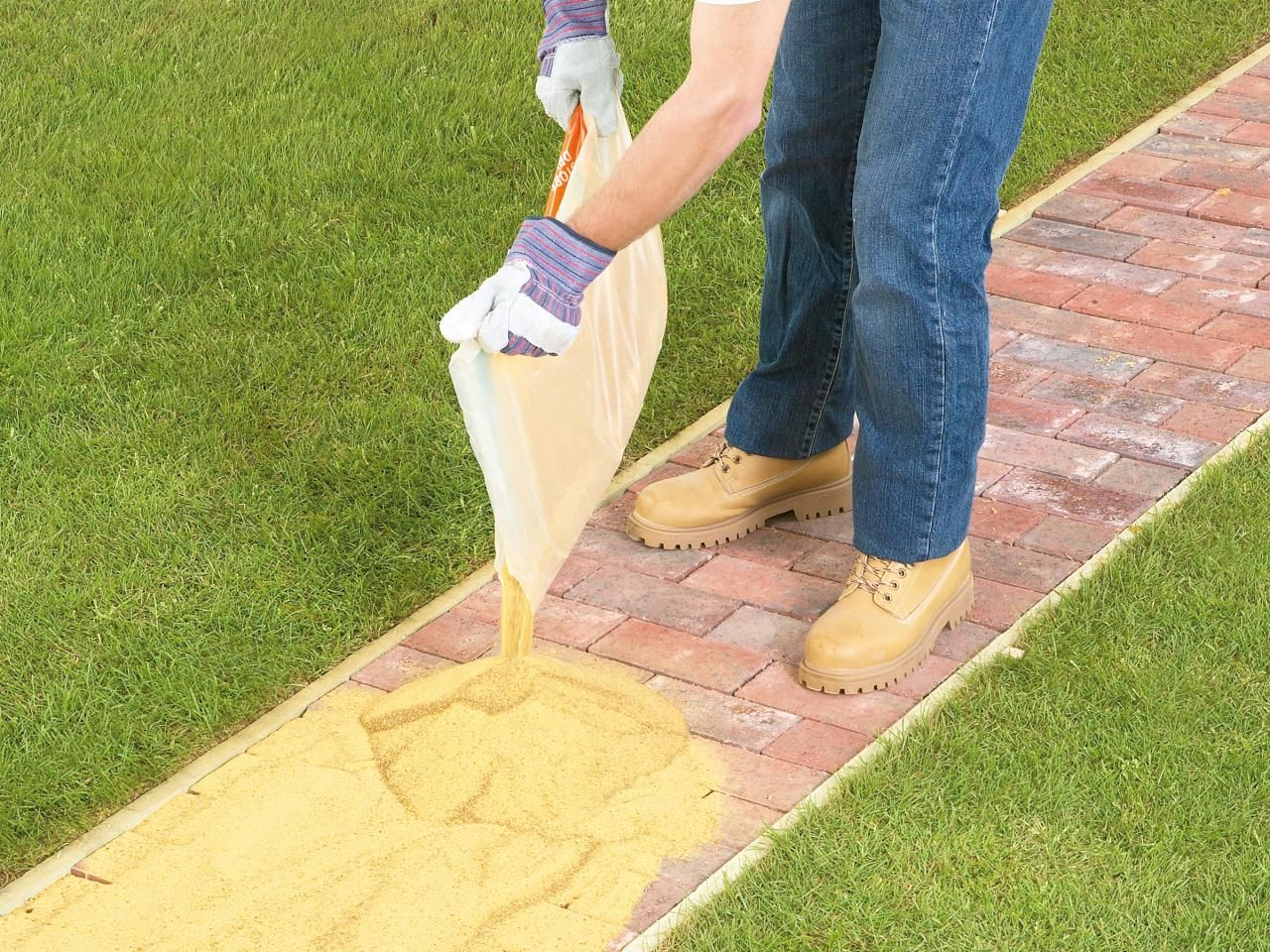 How to Lay a Brick Pathway | Pinterest | Retaining walls, Walkways ...