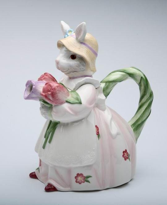 Rosie Rabbit Porcelain Tea Pot