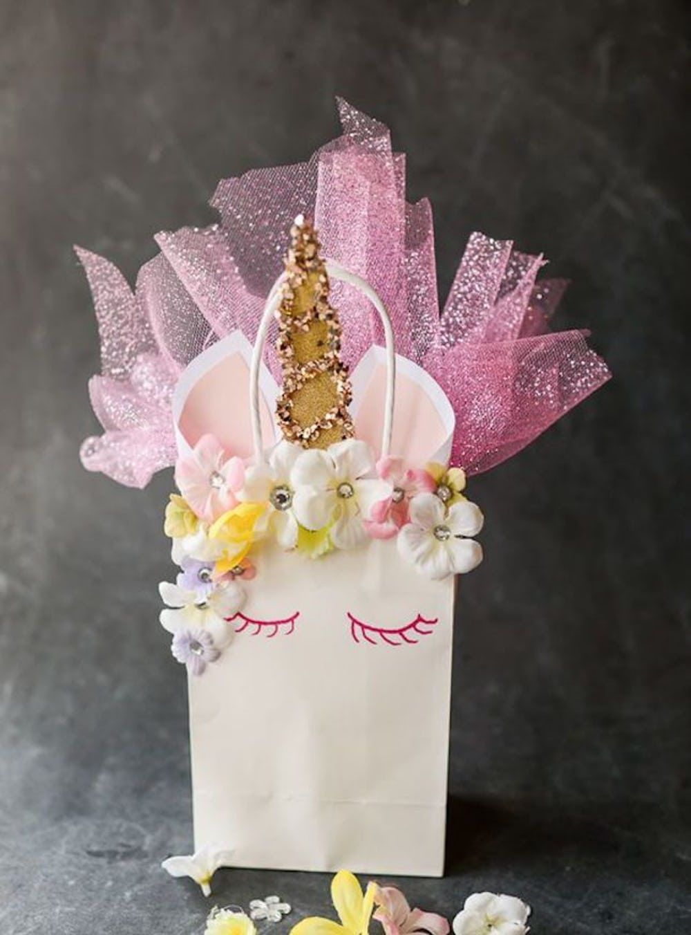21 Party Ideas For A Unicorn Baby Shower Unicorn Gift Bags