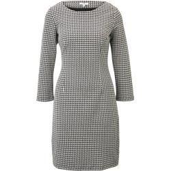 Tom Tailor Damen Strukturiertes Kleid, grau, gemustert, Gr.46 Tom TailorTom Tailor