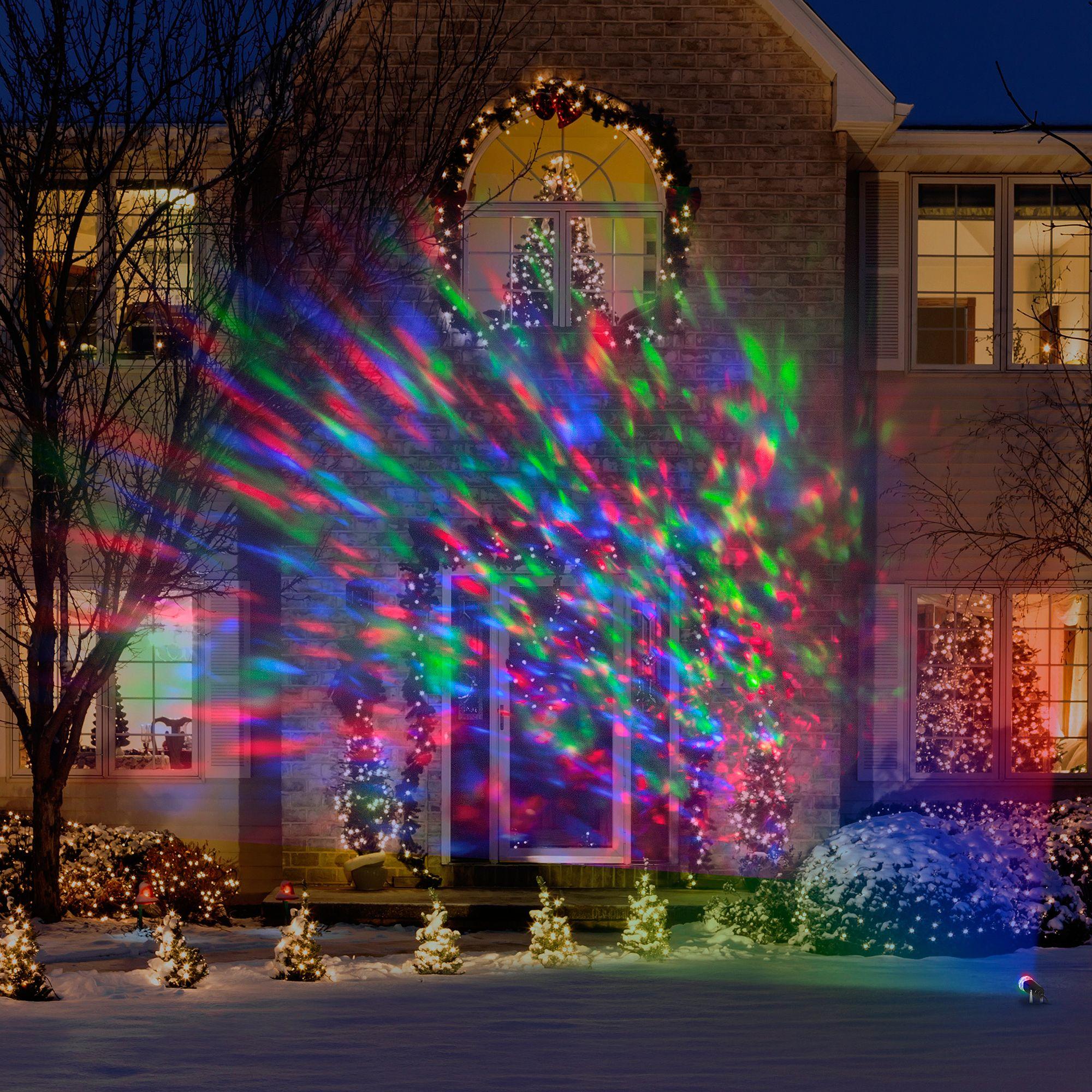 Weihnachtsbeleuchtung Außen Für Große Bäume.Hängende Weihnachtsbeleuchtung Außen Bäume Weihnachten Garten