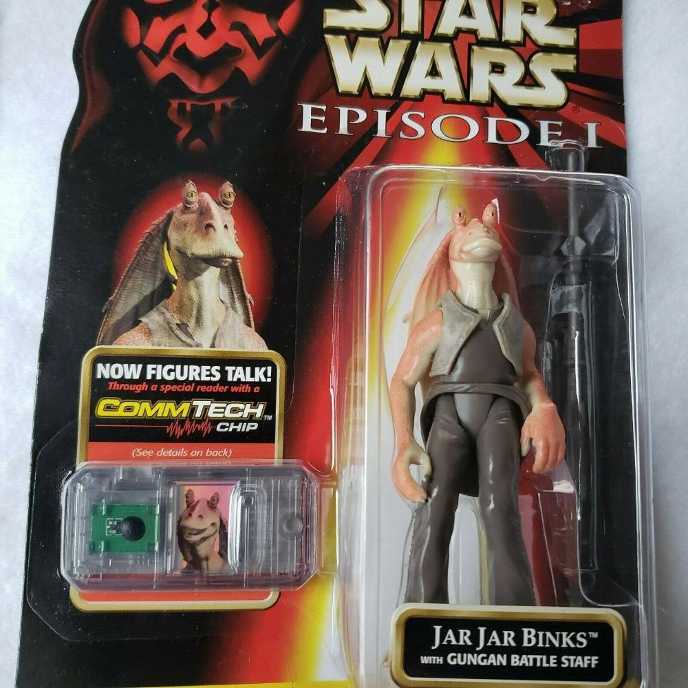 Star Wars Episode 1 Jar Jar Binks Action Figure Collection