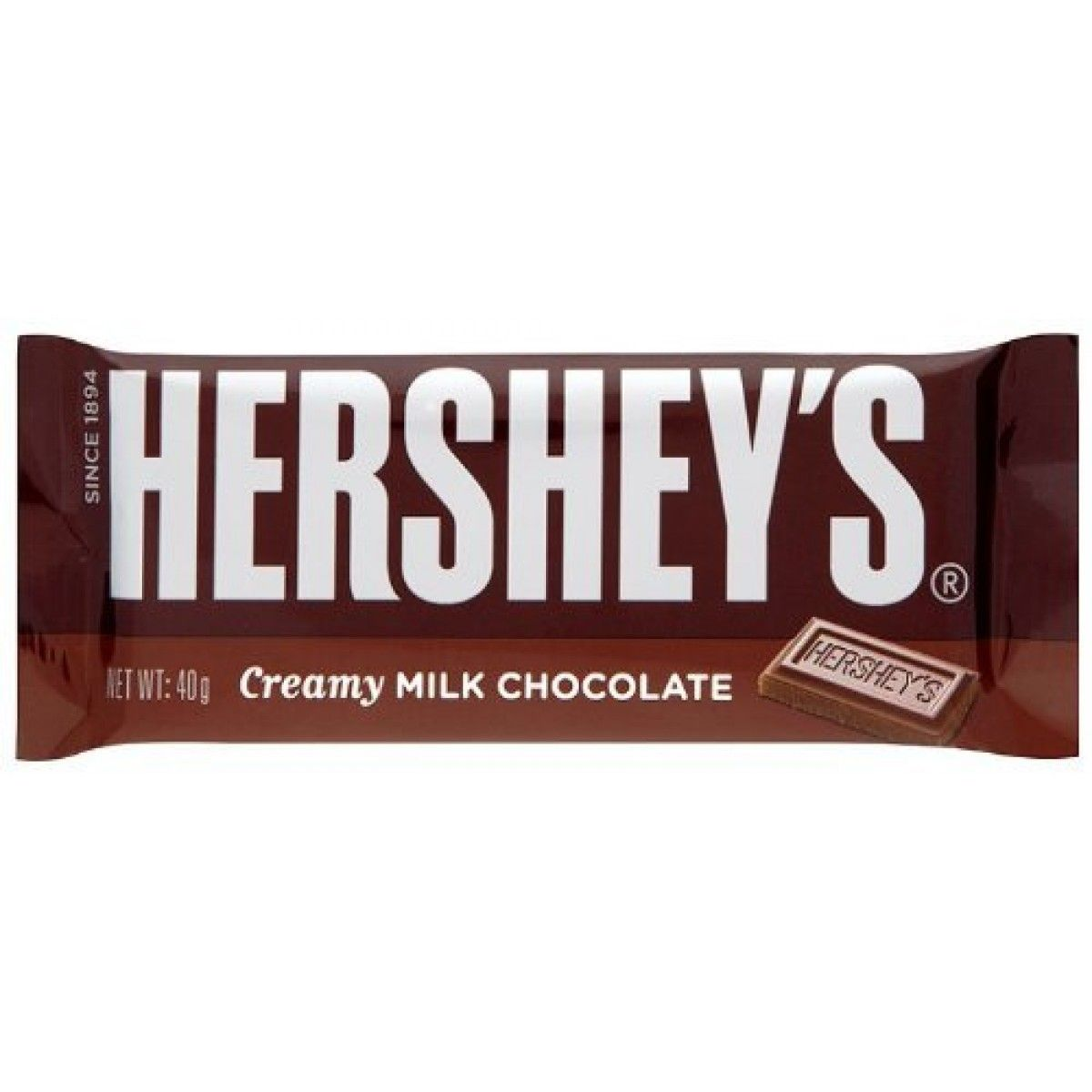 Hershey`s chocolate bars have been in manufacture for decades and ...