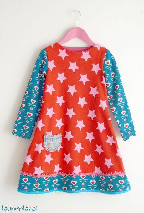 Jerseykleid mit Uboot-Ausschnitt | launenland | Bloglovin'