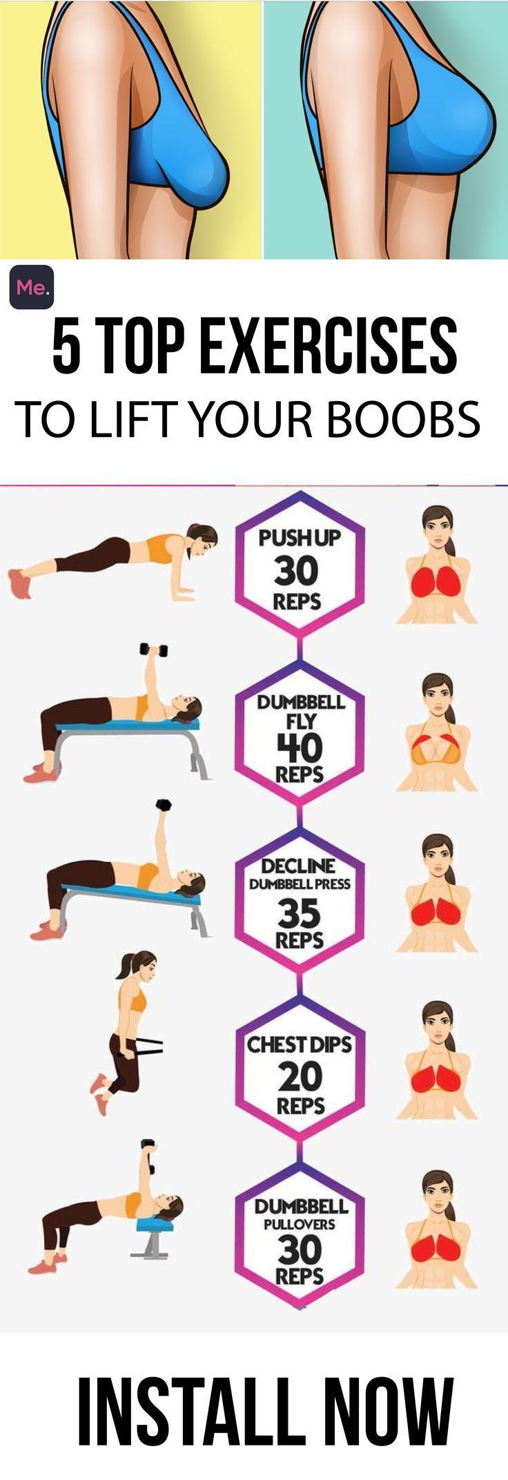 Top 5 Übungen zum Heben Ihrer Brüste #fitnessvideos