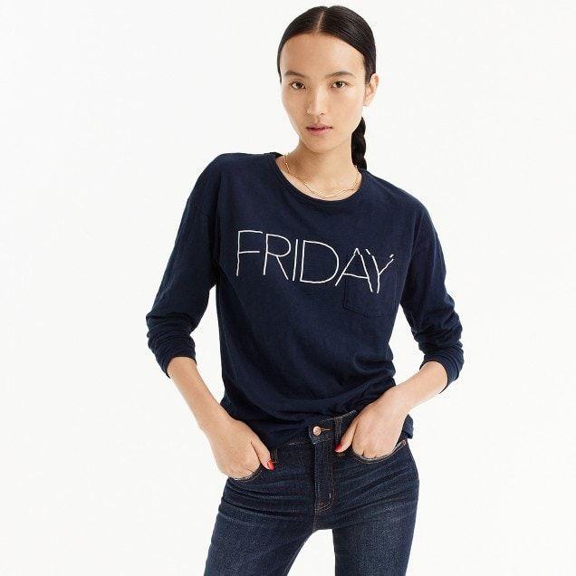 """Friday"" long-sleeve T-shirt"