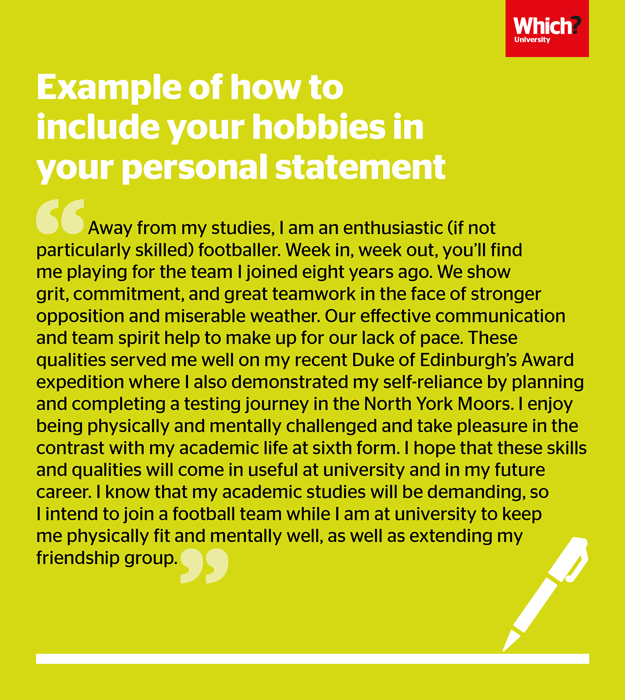 How To Write A Uca Personal Statement Which Example Career Guidance For Nursing