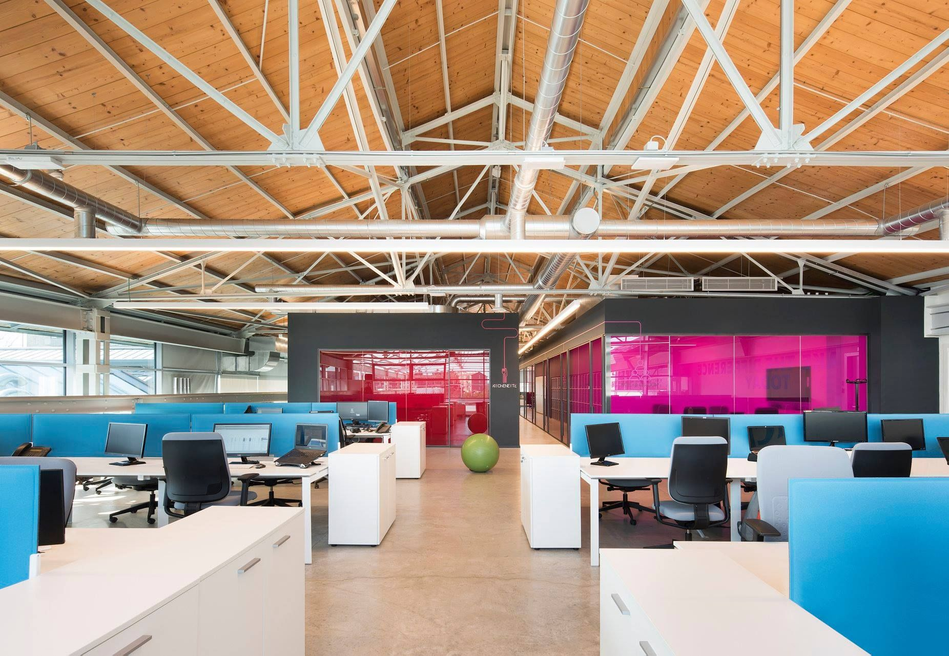 Econocom Open Space By Il Prisma Operational Core Office Details Architecture Office Milan Italy