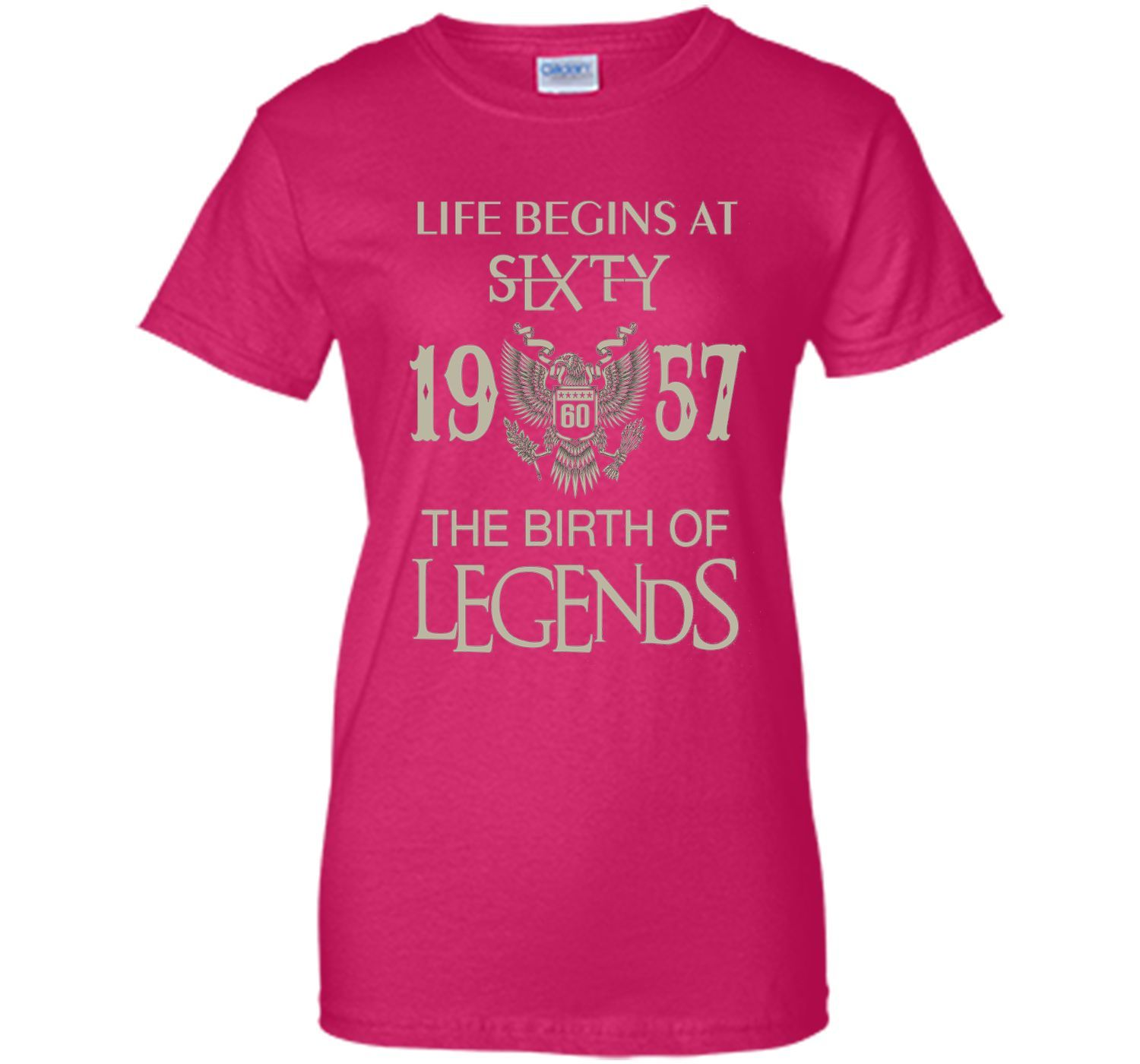Life begins at Sixty - 1957 - The birth of legends