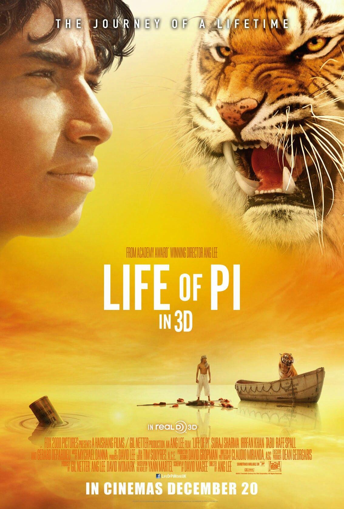 Pin De Miguel Vargas En Posters Películas Completas La Vida De Pi Peliculas Online