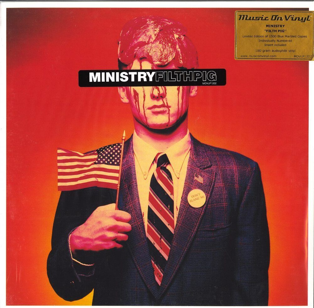 Ministry Filth Pig Limited Edition Blue Colored