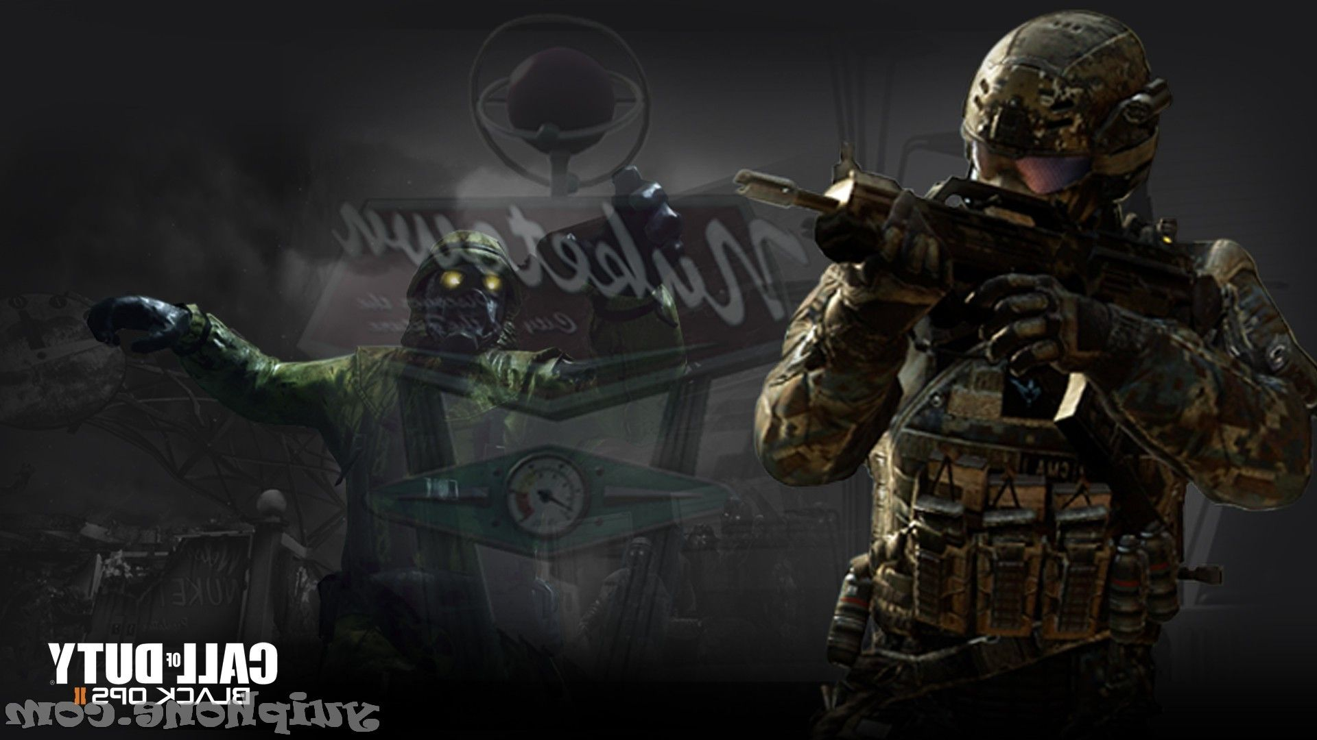 Nuketown Zombies Wallpaper Call Of Duty Black Ops Nuketown Zombies