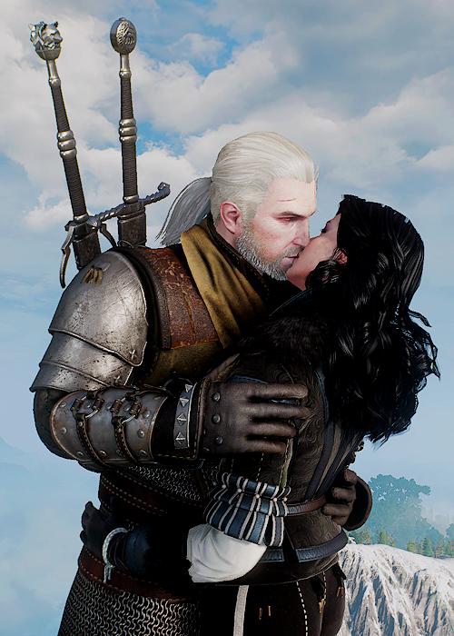 Geralt of Rivia and Yennefer of Vengerberg | My Nerdy Side
