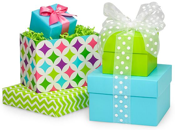 Pretty Gift Boxes With Mix Match Lids Wrapping Gift Boxes
