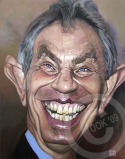 [ Tony Blaire ]  - artist: Russ Cook - website: http://www.russcook.co.uk/index.htm
