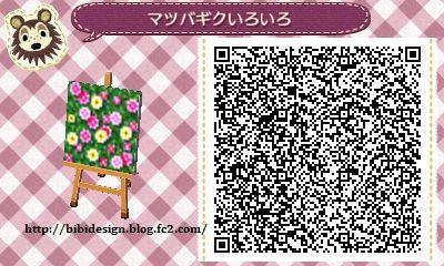 Flower Garden - Animal Crossing New Leaf QR