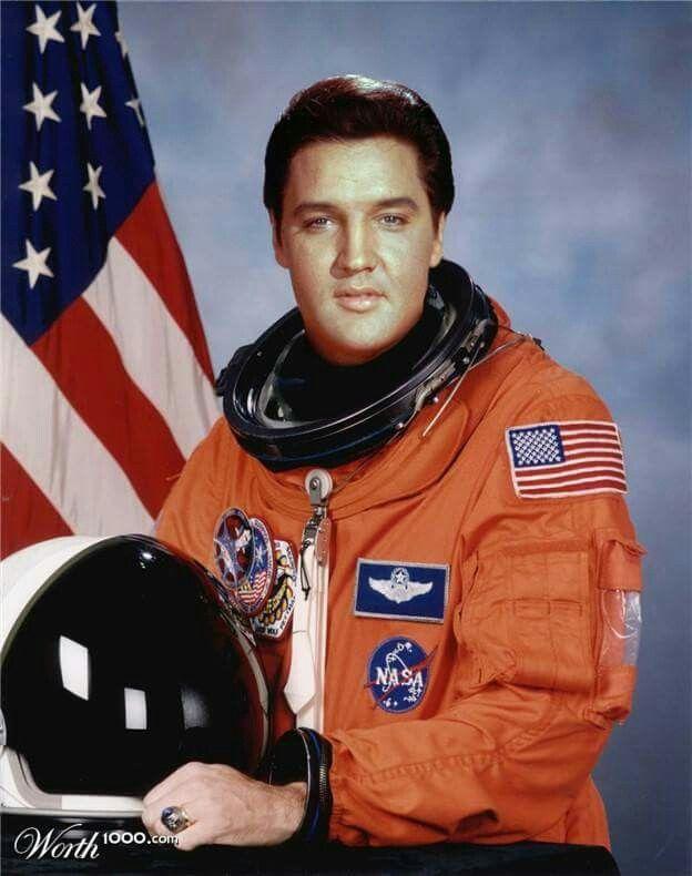 Astronaut Elvis Hahaha!! Elvis Forever Space shuttle missions
