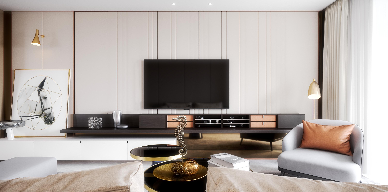Luxury Living Room On Behance Luxury Living Room Apartment