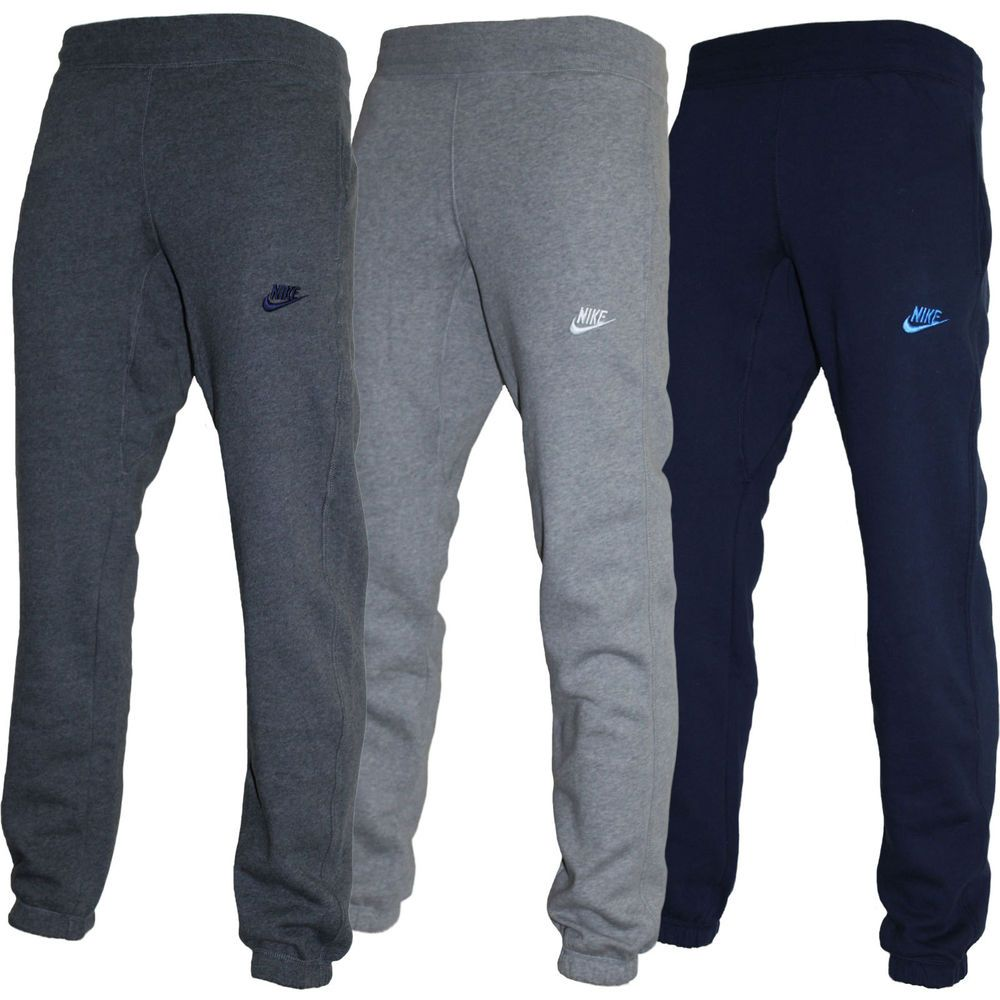 new mens nike fleece joggers tracksuit bottoms track sweat jogging pants nike fleece fleece. Black Bedroom Furniture Sets. Home Design Ideas