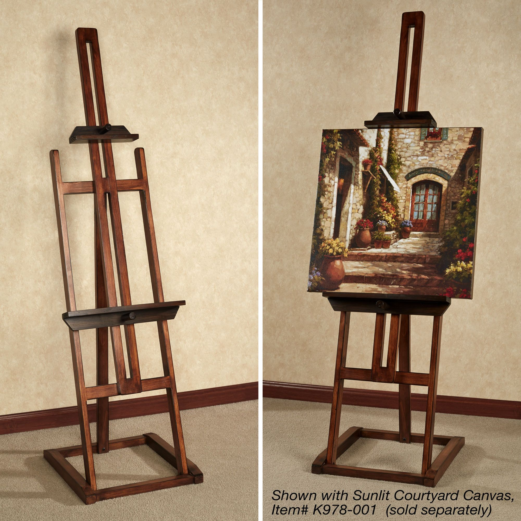 Artist Easel Australia Artisana Wood Display Easel Floor Stand In 2019 House Living