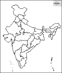 Indian Political Map Outline Image result for india political map practice | maps | India map