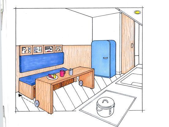 esspl tze f r kleine k chen einrichtung pinterest kleine k che kuchen und pl tzchen. Black Bedroom Furniture Sets. Home Design Ideas