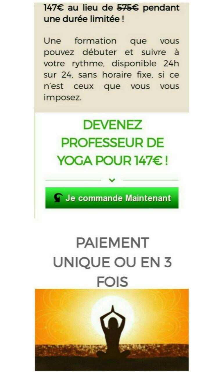 Devenez Professeur De Yoga Certifie In 2021 Ebooks Online