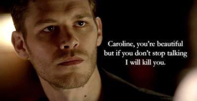 Vampire Diaries Love Quotes Klaus vampire diaries...