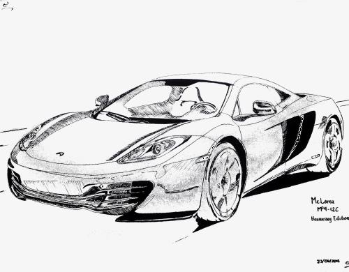 sportauto des tages sports cars  car design sketch car