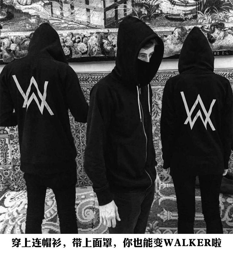 New Top Quality Fashion Alan Walker Faded Men Hoodies Sweatshirt