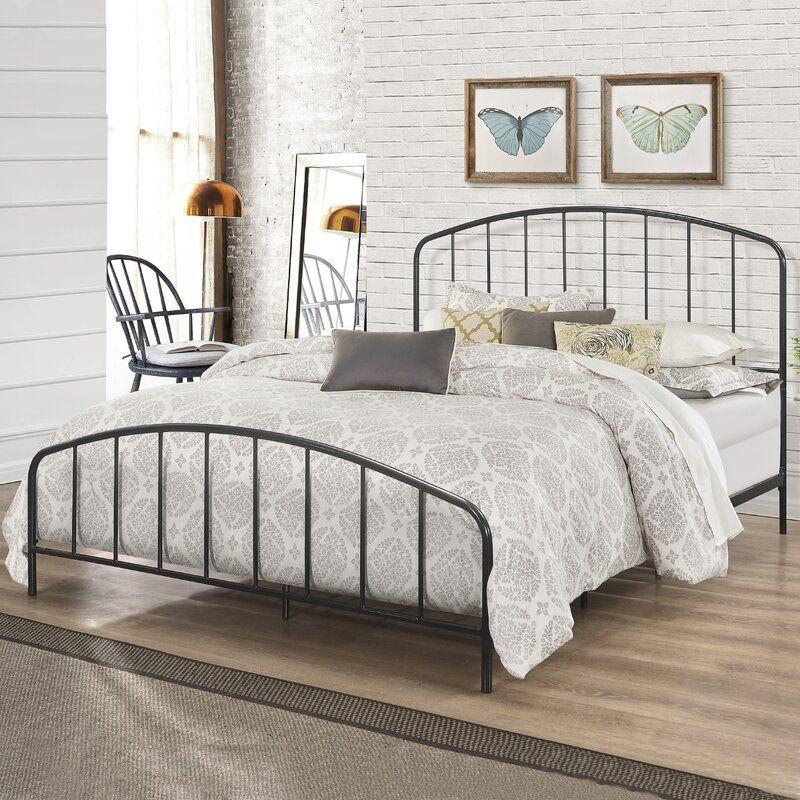 Blunt Metal Standard Bed In 2020 Black Metal Bed King Metal Bed Frame Metal Beds