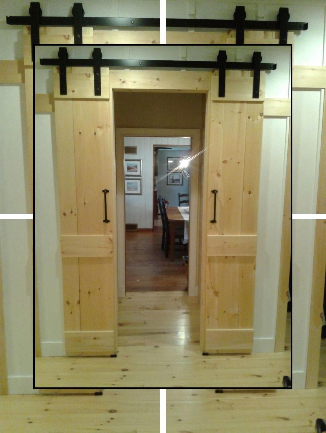Indoor Barn Doors Hollow Core Interior Doors Interior Barn Door Kits Barndoors For You In 2020 Barn Doors Sliding Interior Barn Doors Cheap Interior Doors