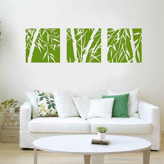 Bamboo Wall Decals,bamboo Wall Decal,bamboo Wall Art,bamboo Wall Stickers,