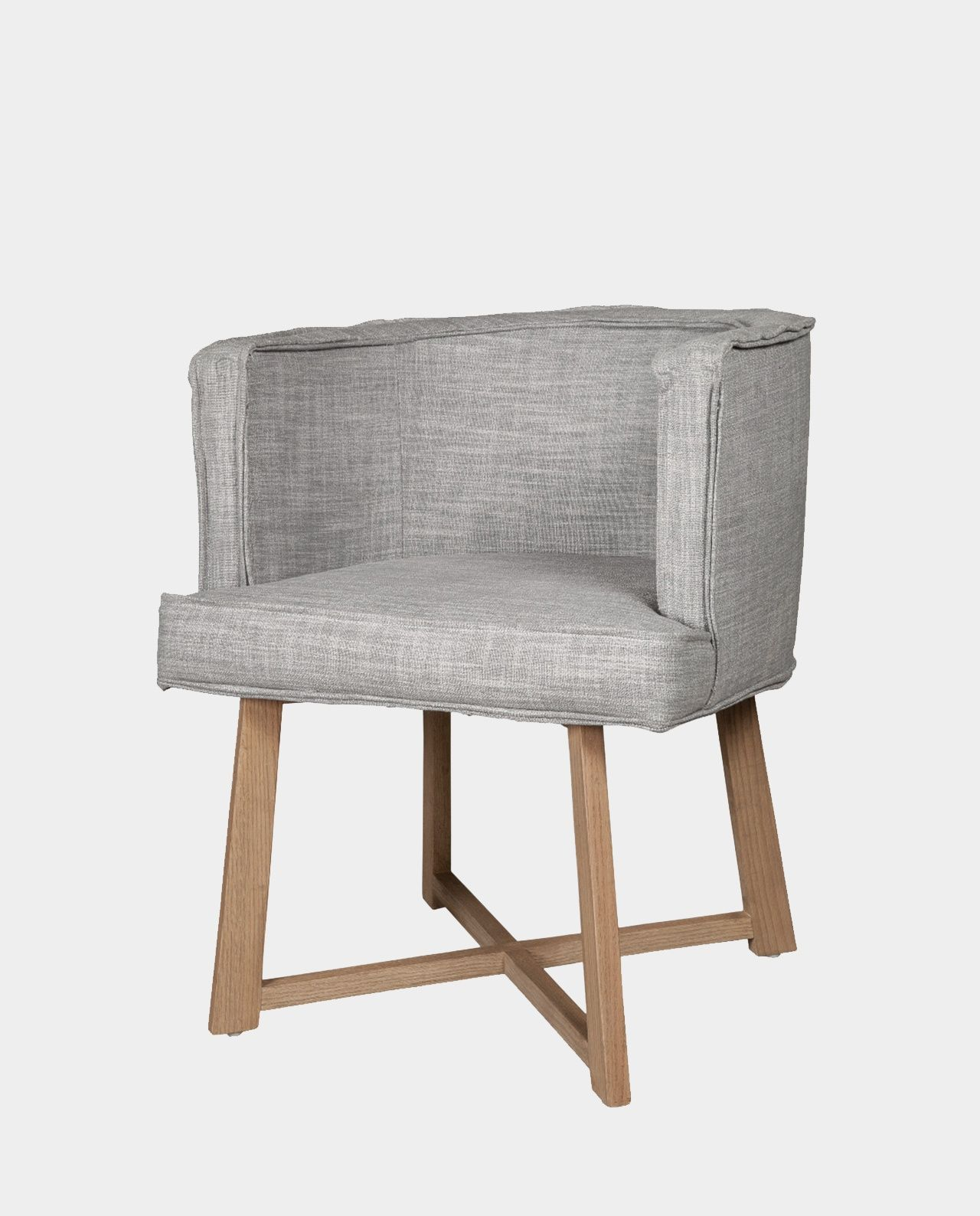 La silla Olympia tiene un respaldo curveado y es ideal para un ...