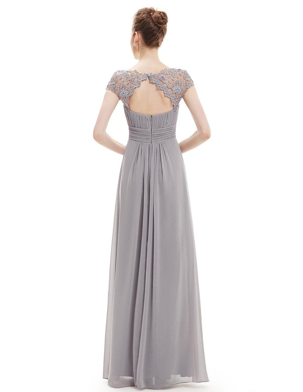 Ever pretty womens evening party dress uk grey moda pinterest