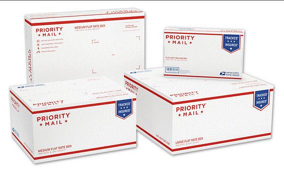 preturi de lichidare cel mai bun preț diverse stiluri Upgrade shipping: USPS Priority Mail 2 Day Flat Rate Box - USA ...
