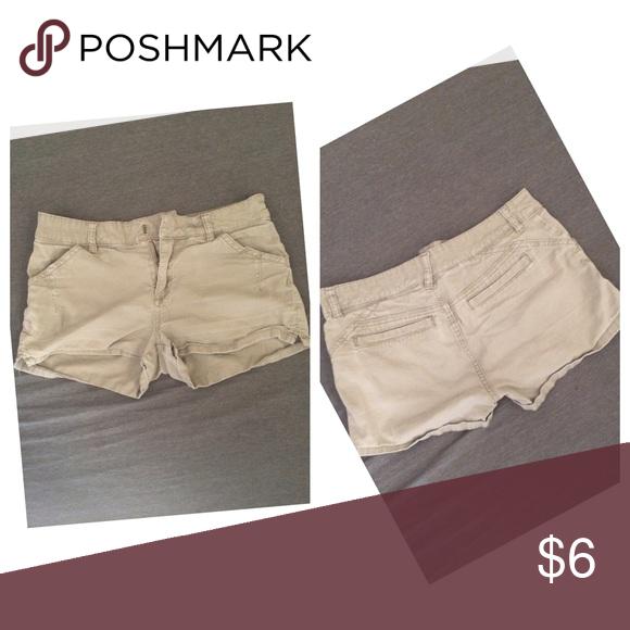 Tan Short Shorts Slightly Faded can probably fit medium Roxy Shorts