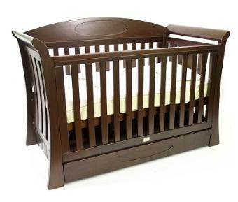 Love N Care Elite Regal Cot in Hazelnut | Baby Mode Cots ...