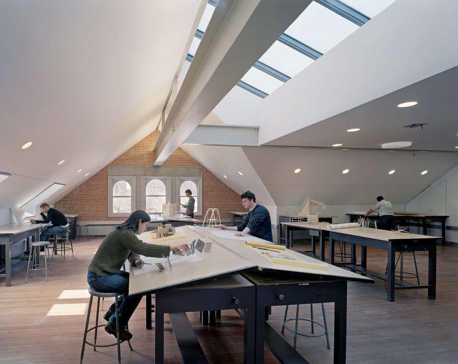 Pratt Institute Architecture University Interior Design Classroom Architecture Workshop Architecture