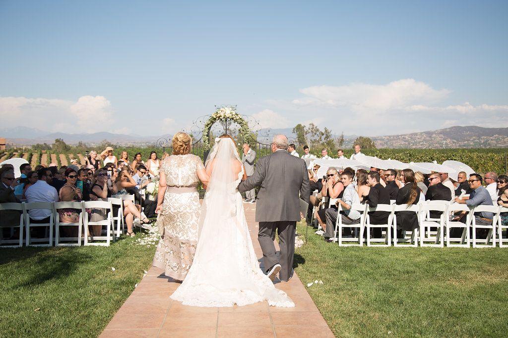 Vineyard wedding venue by Villa de Amore California Wedd