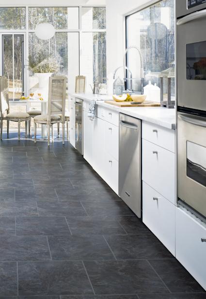 Tarkett Luxury Vinyl Floors Kitchen Flooring Best Flooring For Kitchen Kitchen Floor Tile