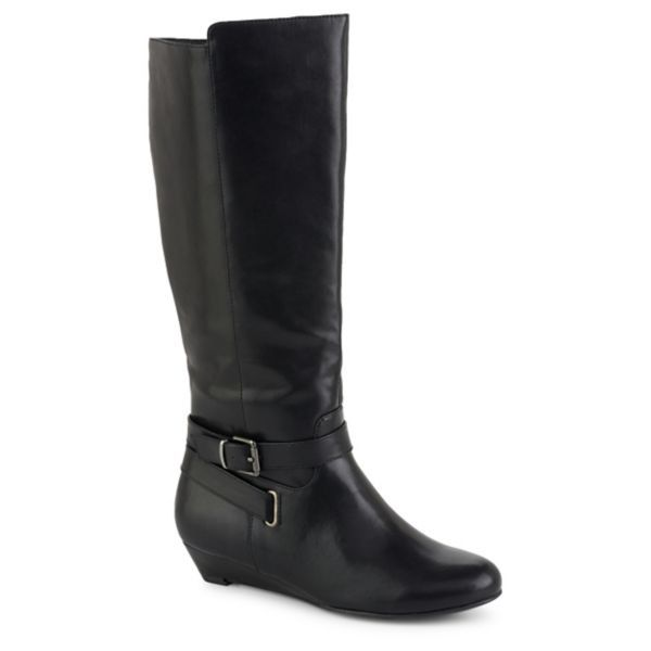 Pesaro Ragan Women's Tall Black Boot On Sale for $29.99 (from $69.99) No 8.5 left in stock as of 1/6/17