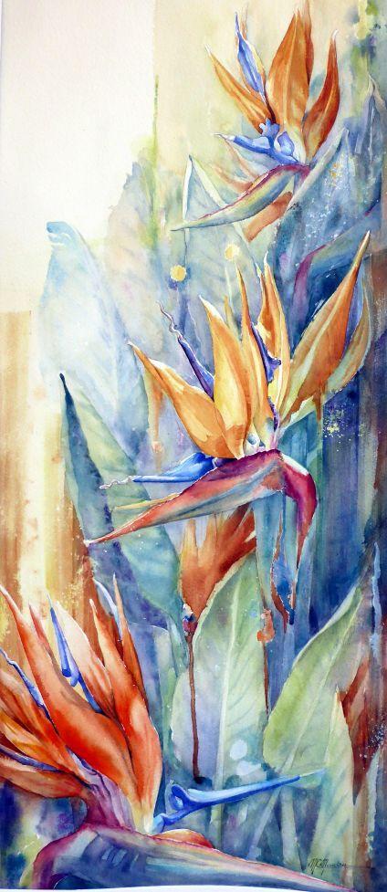 Moudru Marie Claire Fleur3 Peinture Fleurs Comment Peindre Et